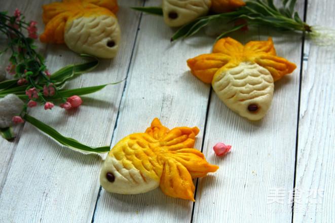 金鱼馒头成品图
