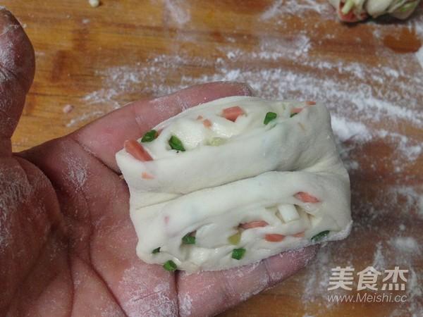 椒盐火腿葱香卷怎样炒