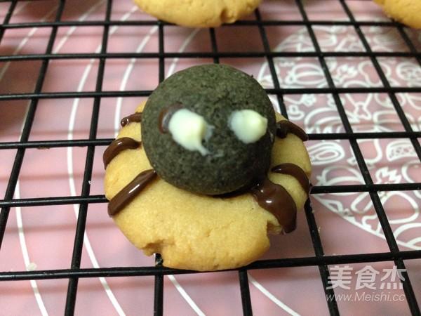 万圣节搞怪——蜘蛛饼干的制作方法