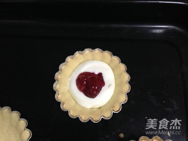 草莓酱流心芝士挞怎样炖