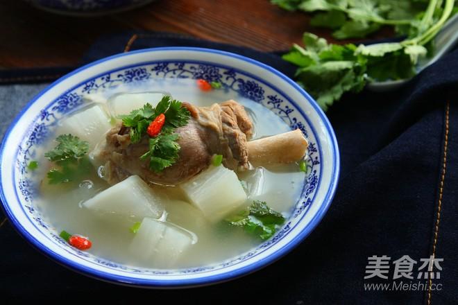 羊腿萝卜汤的做法大全
