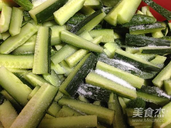 酱瓜小菜的做法图解