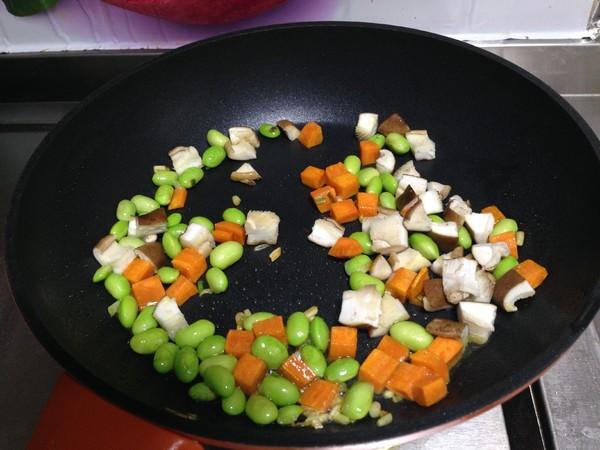 鸡蛋豆腐四鲜羹怎样煸
