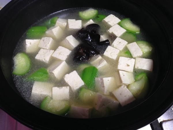 丝瓜豆腐汤怎样炒