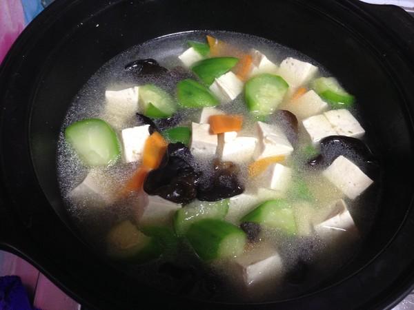 丝瓜豆腐汤怎样煮
