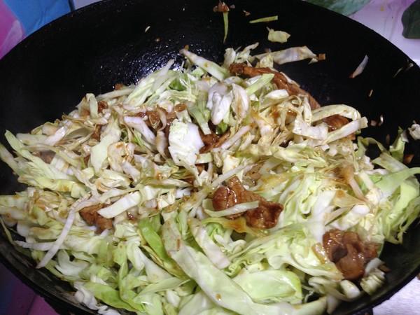 包菜炒面怎样煮