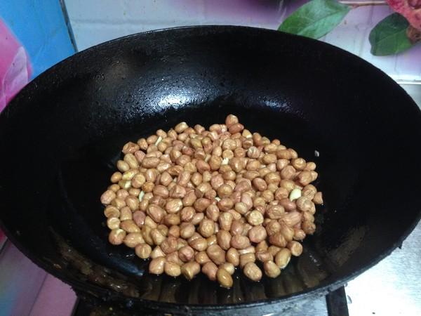 油炒椒盐花生米的简单做法