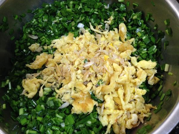 韭菜鸡蛋水煎包怎么炒