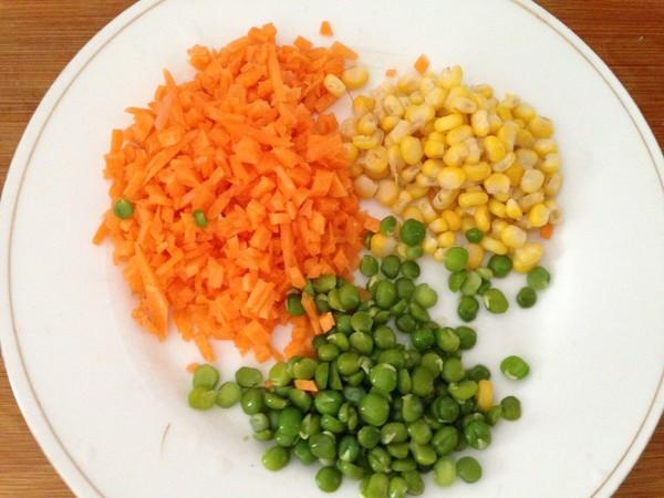 鸡肉玉米蒸蛋的简单做法