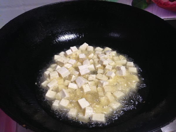豆腐丁鸡蛋酱怎么做
