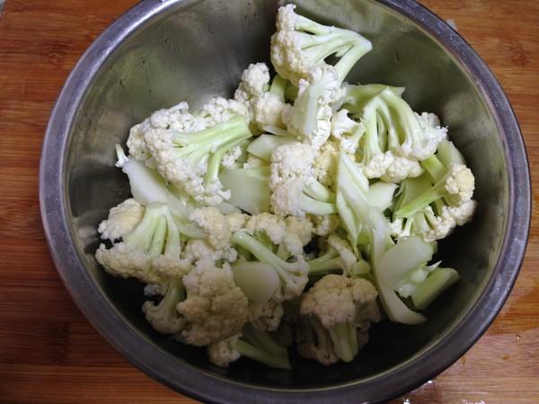 花菜炒肉片怎么吃