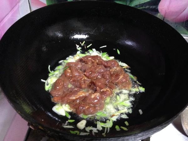 花菜炒肉片怎么煮