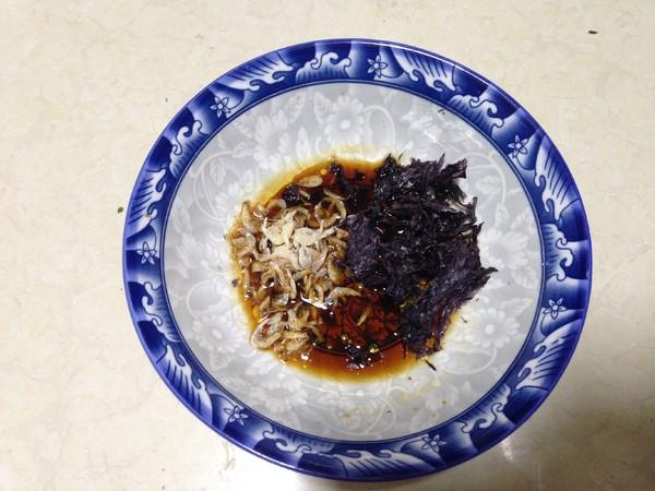 红油荠菜猪肉馄饨怎么吃