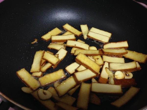枸杞叶炒香干怎么煮