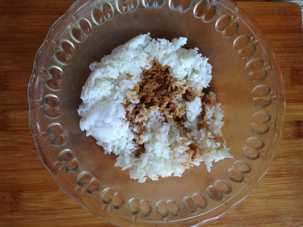 海苔肉松大米饼的家常做法