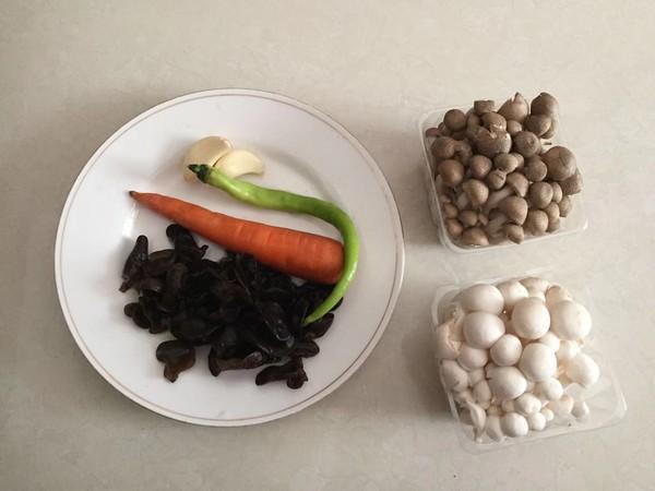 脱糖菌菇饭的步骤
