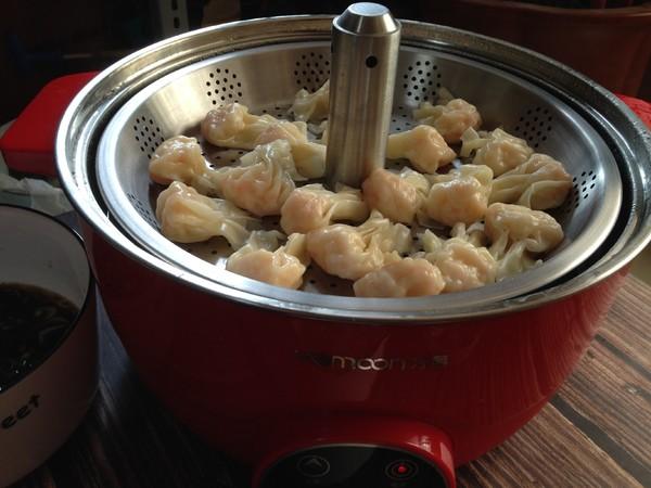 小金鱼虾仁馄饨的制作方法
