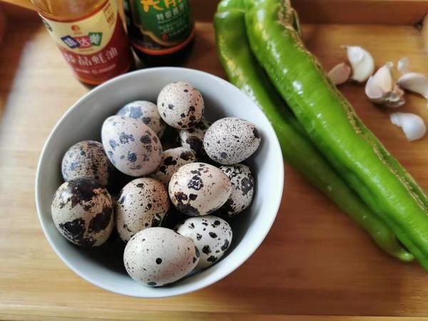 虎皮尖椒鹌鹑蛋的做法大全
