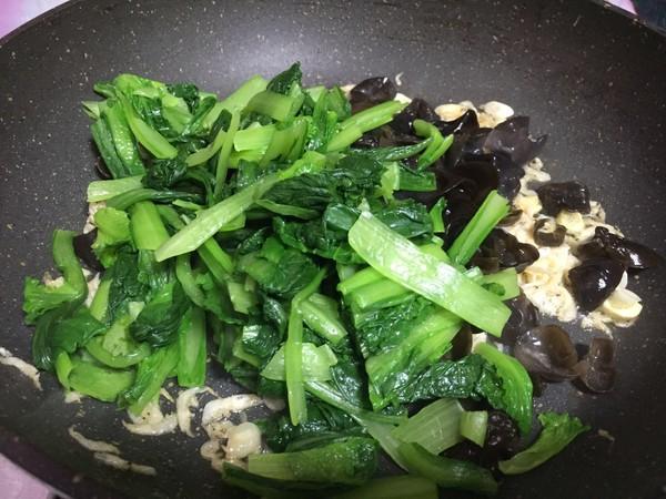 虾皮小白菜怎么炒