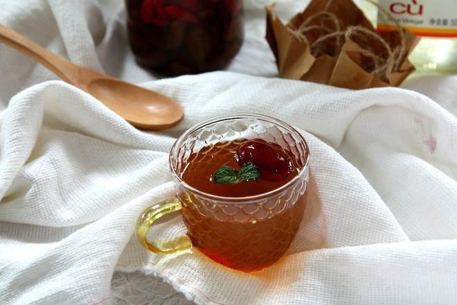 葡萄干红枣醋怎么吃