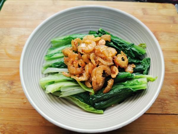 虾干油麦菜怎么煮