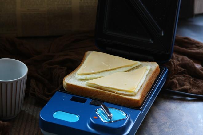 双拼飞碟三明治怎么煸