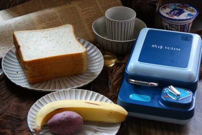 双拼飞碟三明治的做法大全