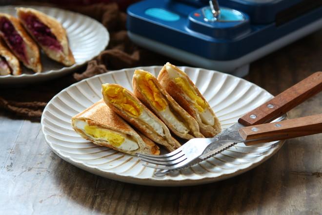 双拼飞碟三明治怎样做