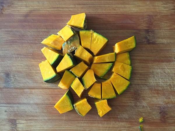 南瓜杂粮焖饭的做法大全