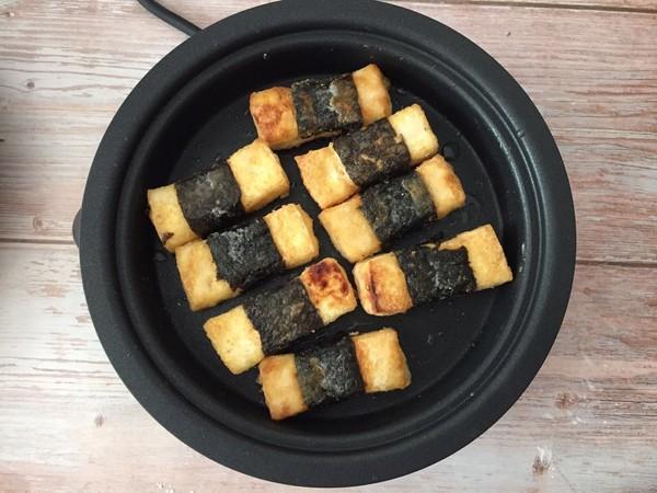 豆腐神仙吃法——照烧海苔豆腐怎么吃