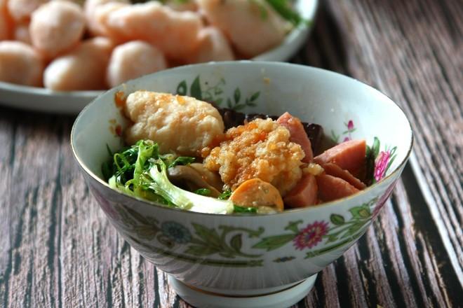 番茄什锦锅成品图