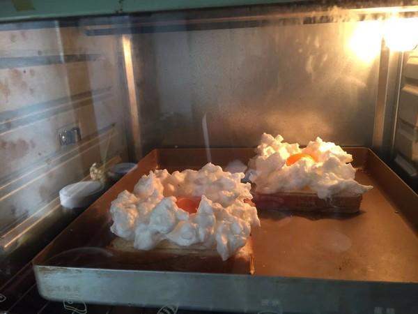 芝士吐司云朵蛋怎么煮