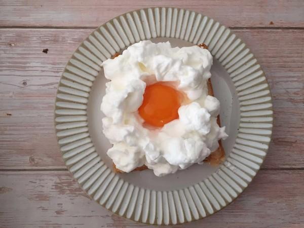 芝士吐司云朵蛋怎么炒