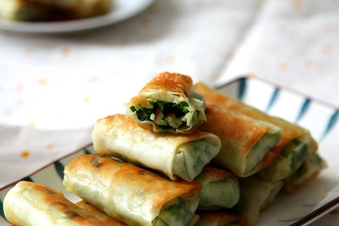 饺子皮韭菜蟹柳春卷怎样炒