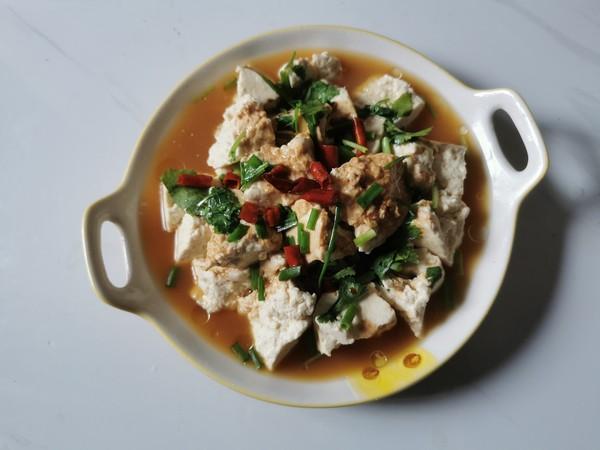 鸡汁手掰豆腐怎么煮