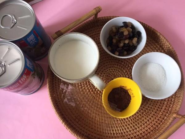可可蜜豆椰奶冻的做法大全
