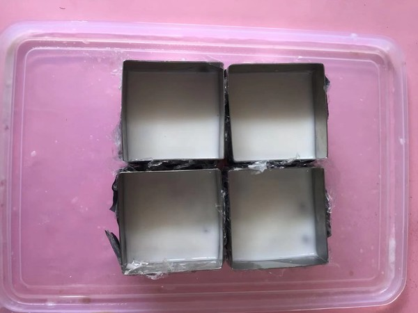 可可蜜豆椰奶冻的简单做法