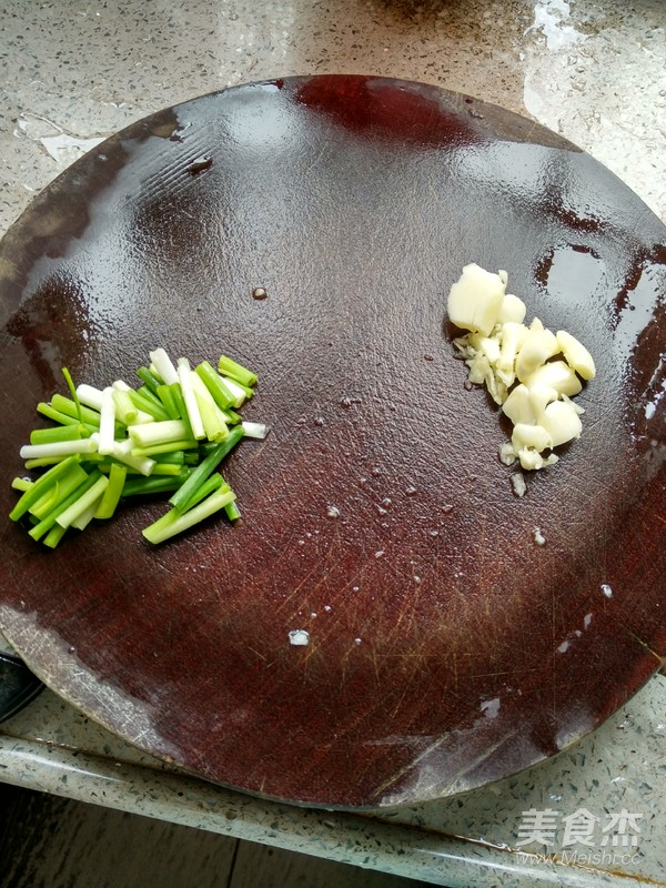清炒豆芽的做法图解