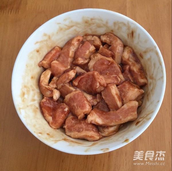 青瓜猪颈肉的步骤