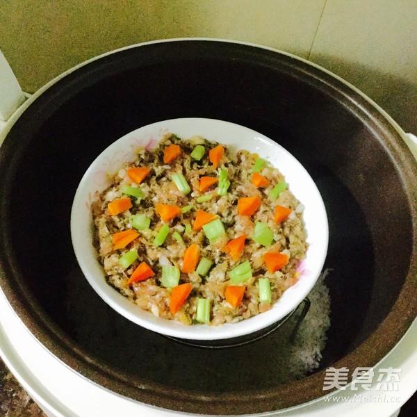 梅菜蒸肉饼怎么做