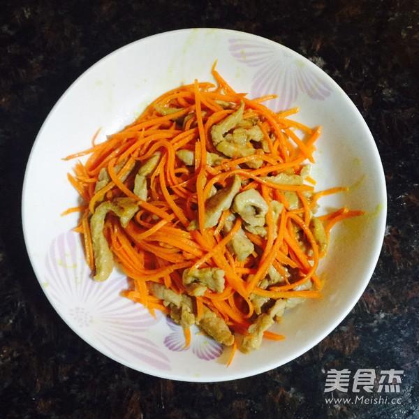 胡萝卜炒粉丝怎么做
