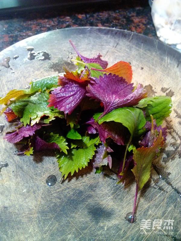 香芋紫苏蒸排骨的简单做法