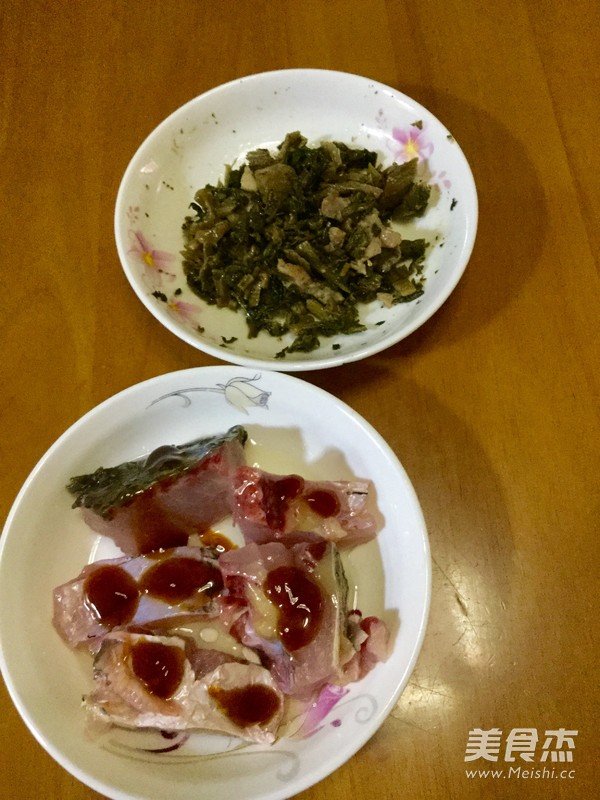 家乡咸菜蒸鱼的做法图解