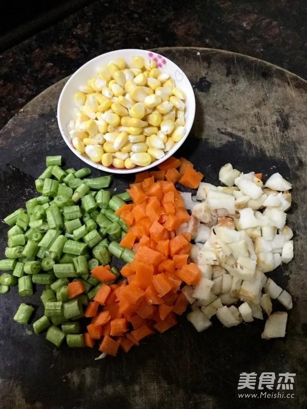 杂锦玉米羹的家常做法
