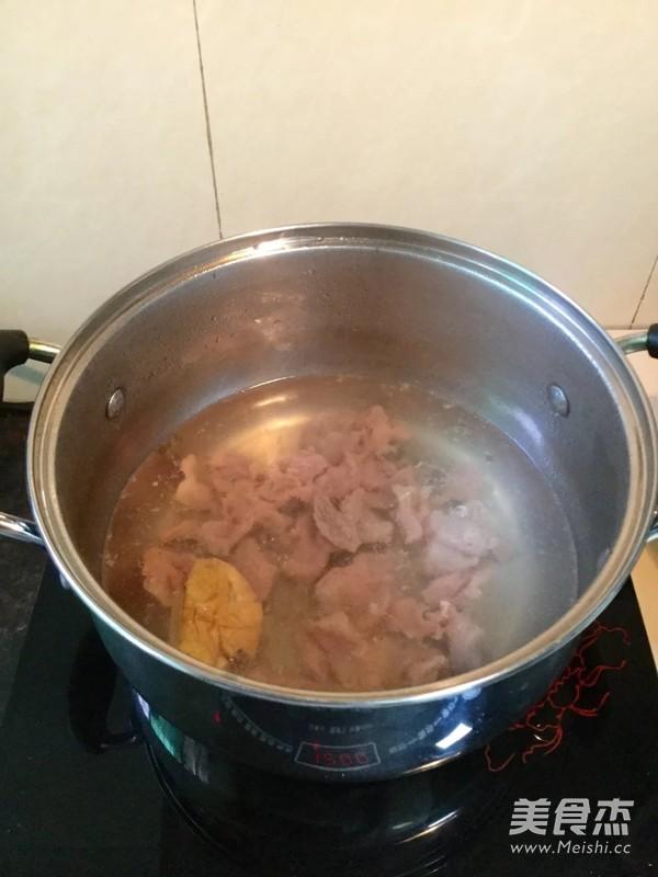 肉片豆叶汤怎么做