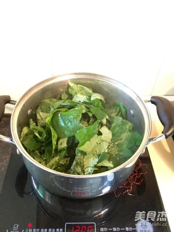 肉片豆叶汤怎么炒