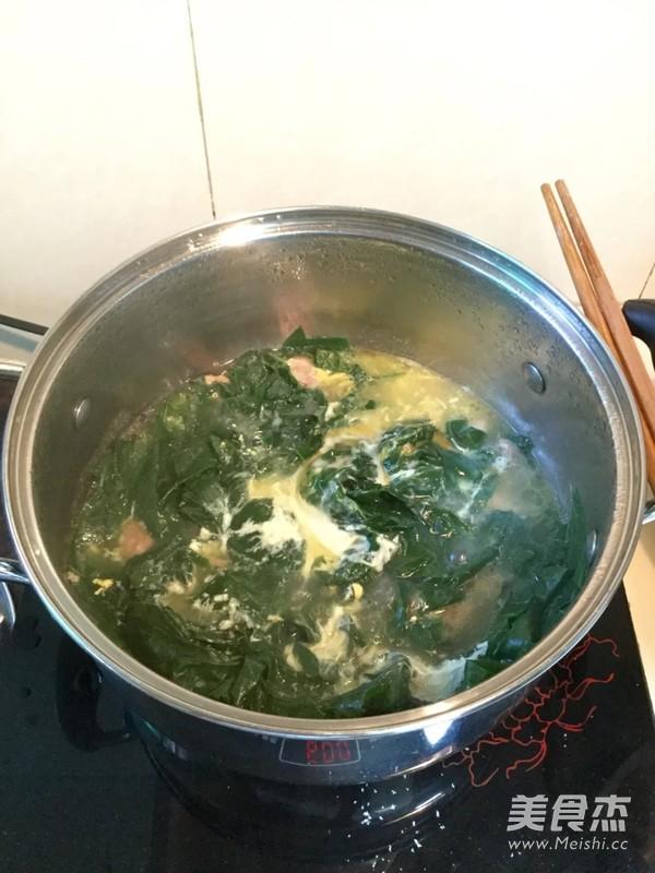 肉片豆叶汤怎样煸