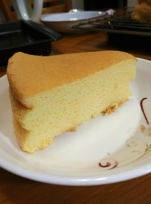 糯米粉戚風蛋糕成品圖