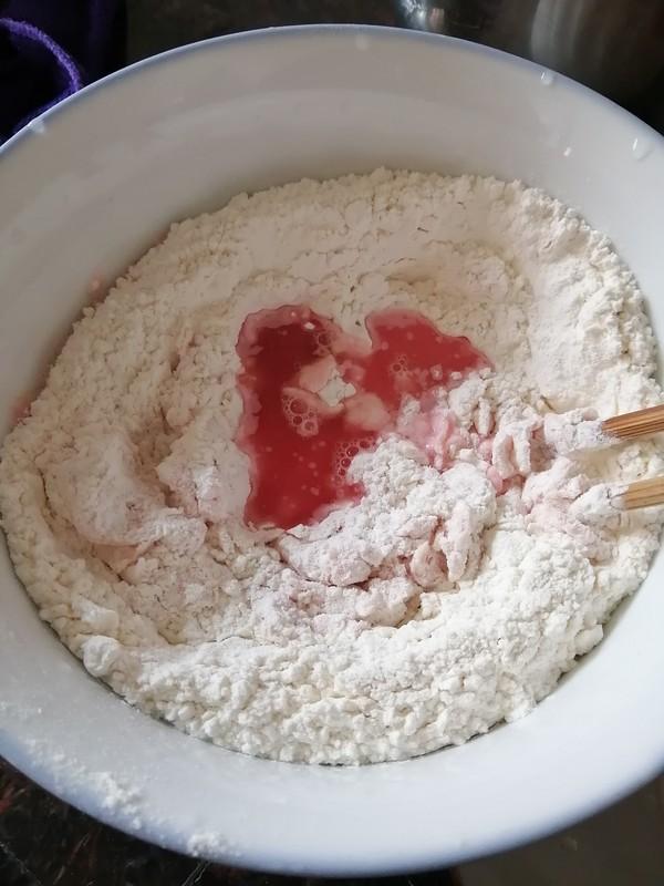 粉红色的玫瑰花饺子的家常做法