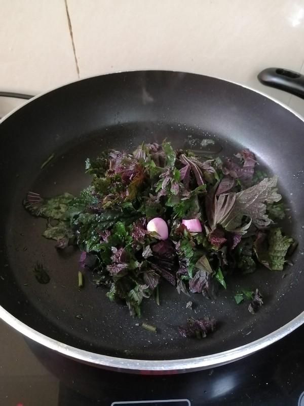 鸡蛋紫苏炒米粉怎么煮